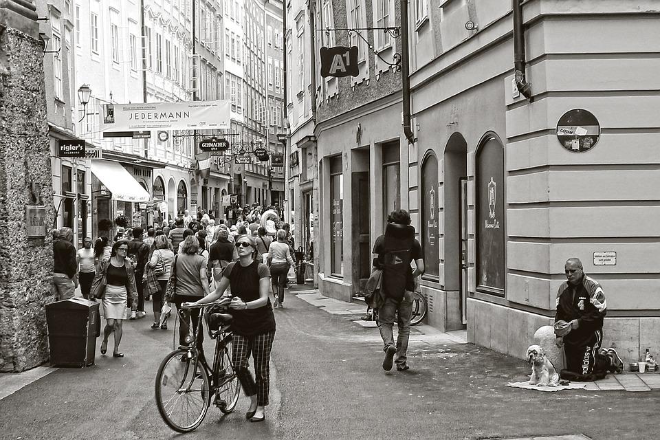 人間, 市, ライブ, 日常生活, 通りの写真撮影, 分析観点, 道路, 行く, 歩行者, 個人