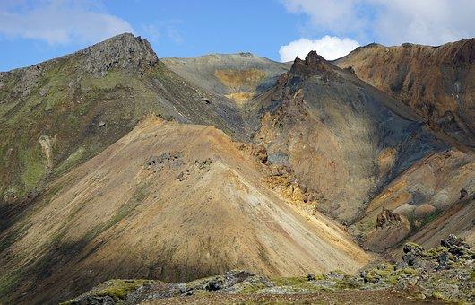 Landmannahellir, Iceland, Volcano