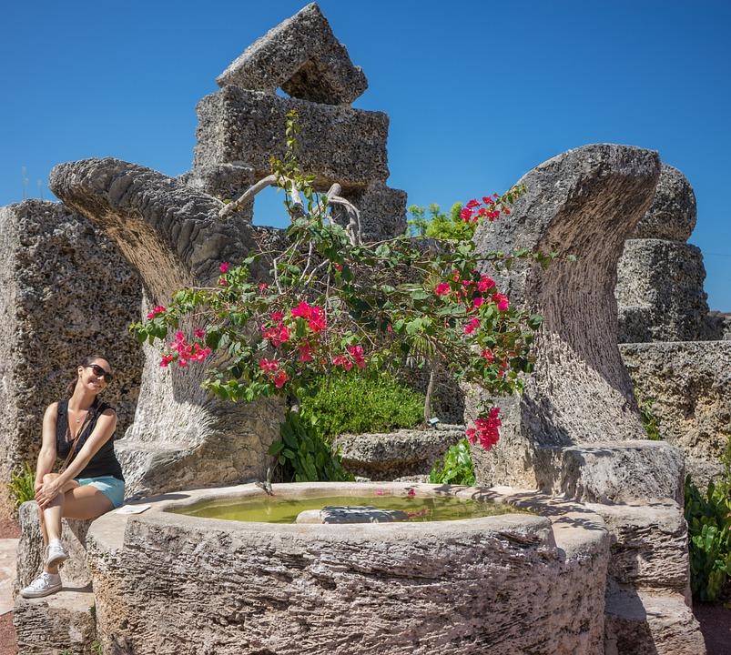 Castelo De Coral Miami Florida - Foto gratuita no Pixabay