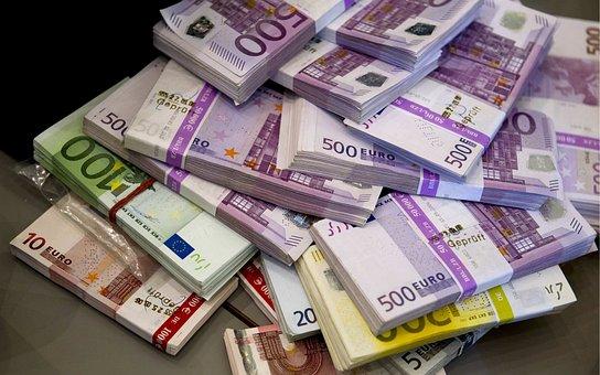 Geld, Euro, Valuta, Rekening, Euro, Euro