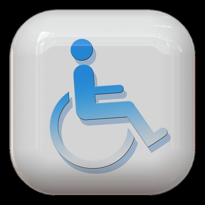 Button Symbol Wheelchair Free Image On Pixabay