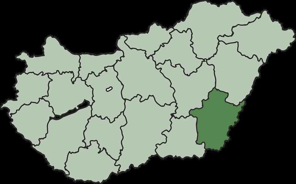 magyarország megye térkép Megye Magyarország Térkép · Ingyenes vektorgrafika a Pixabay en magyarország megye térkép