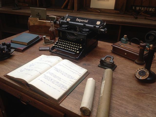 Antique study desk