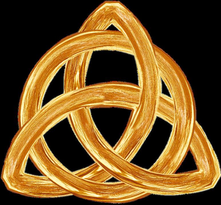 Trinity Gold Symbol Free Image On Pixabay