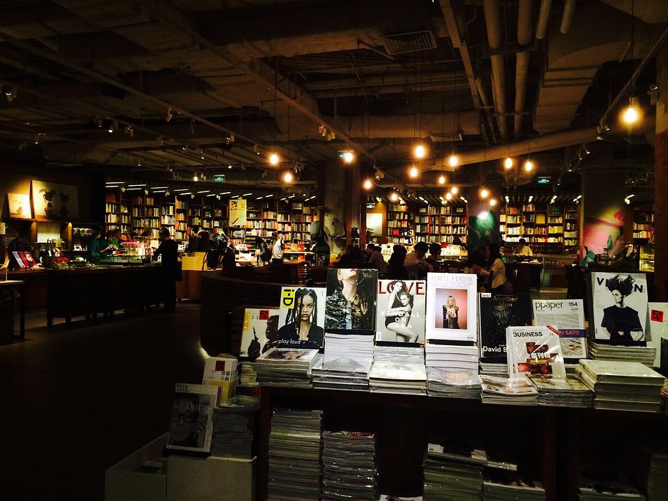 書店, パーティー, 文化