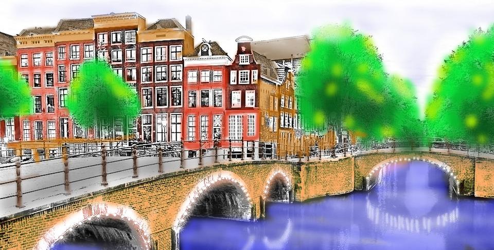 Boyama çizimleri şehir Pixabayde ücretsiz Resim