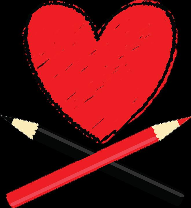 Corazón Amor Rojo · Imagen Gratis En Pixabay
