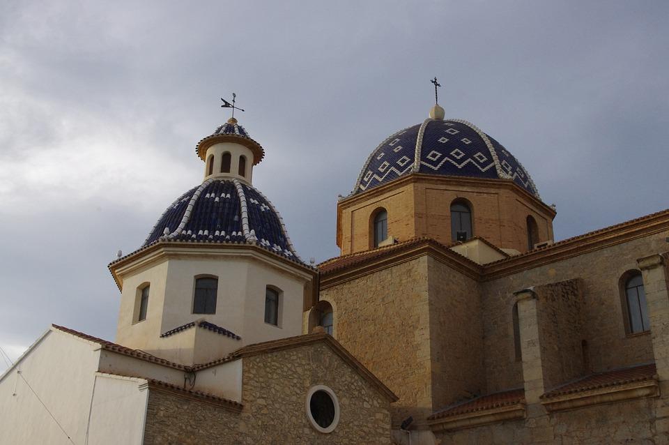 Altea, Iglesia, Monumento, Arquitectura, Alicante