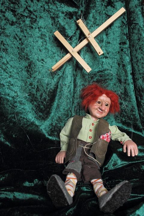 人形, Waldschrat, 子供のおもちゃ, 操り人形師, フィギュア, カラフル, かわいい