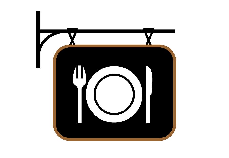 Vintage Restaurant Sign 55