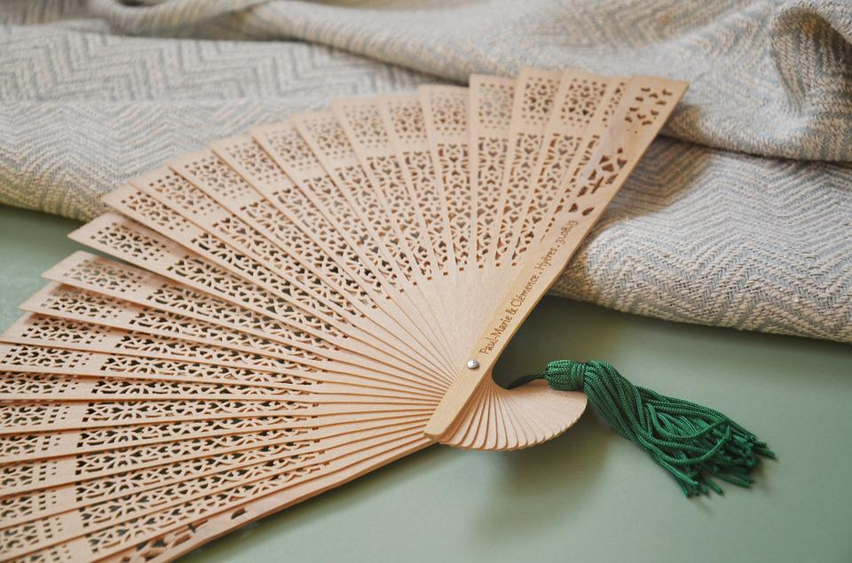 Wedding decoration workshop free photo on pixabay wedding decoration workshop handmade fans bamboo junglespirit Image collections