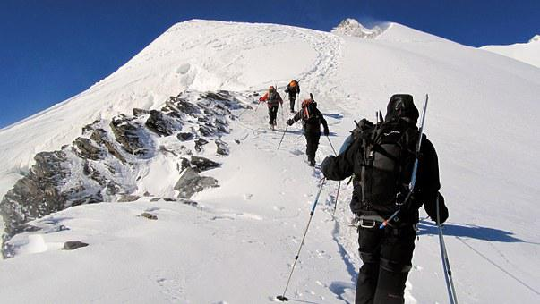 Mountaineering, Mountain, Climbing, Alps