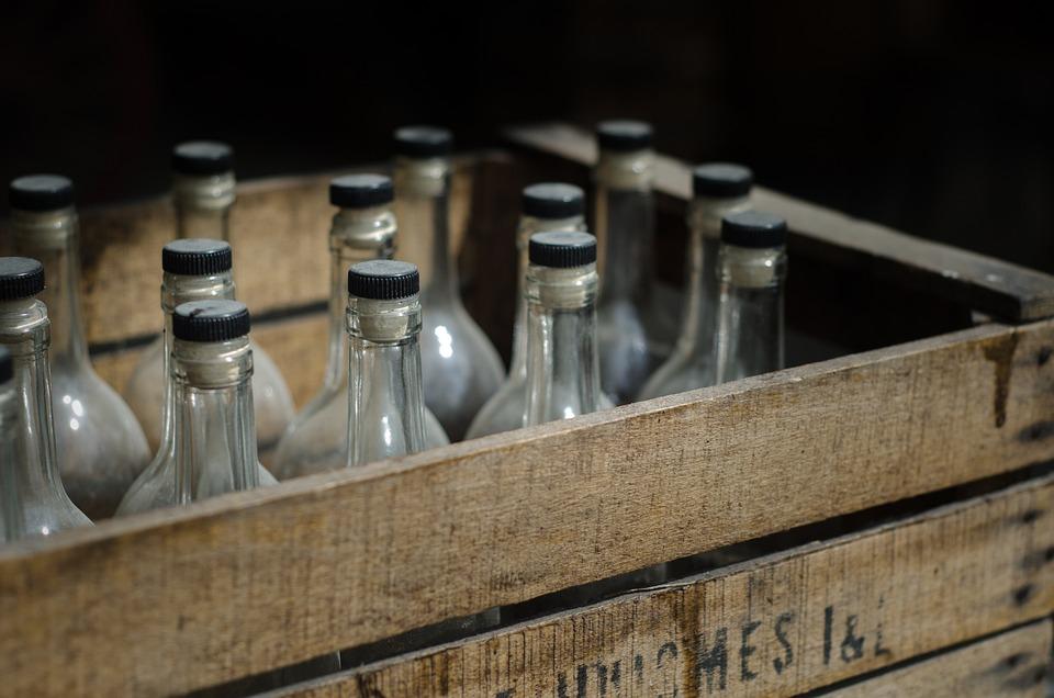 箱, ビール, ビンテージ, アンティーク, アルコール, 密造, 木材, ラガー, ドリンク, 醸造, 包装