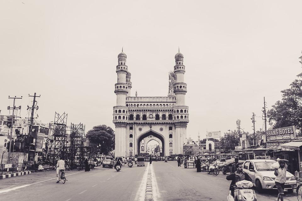 Charminar, Monument, India, Travel, Hyderabad, Andhra