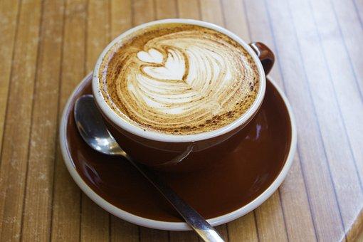 Coffee, Cup, Cappuccino, Break