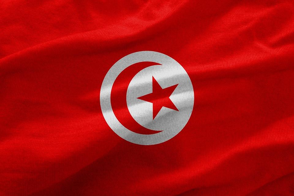 tunisie drapeau-