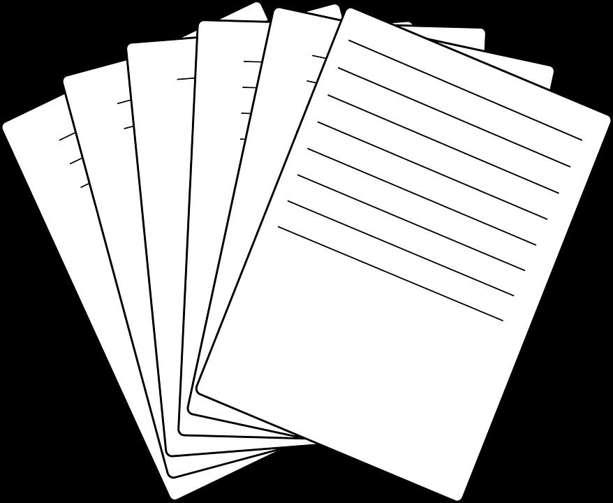 Картинка лист бумаги для детей