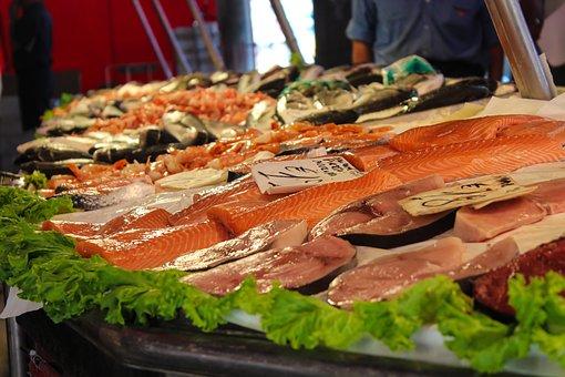 Market, Fish, Fish Market, Food, Fresh