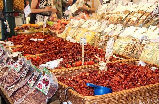 Tomato, Spices, Dried, Bio, Nature