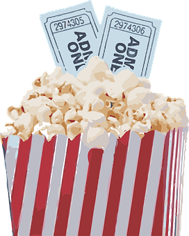 Popcorn Movie Pop Corn Snack Film Tic