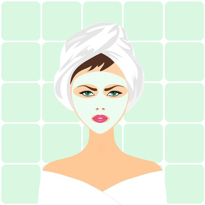 美容トリートメント, 顔のマスク, スパ, 顔, 皮膚, 治療, マスク, ケア, 女性, 女の子