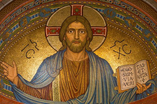 Christ, Jesus, Religion, Mosaic, Easter