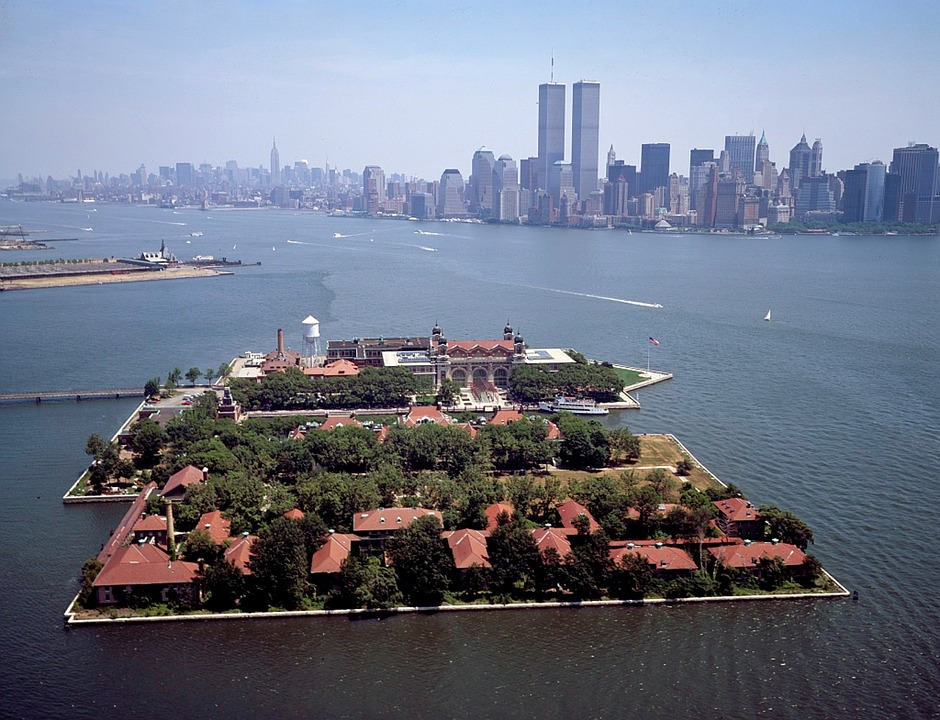 A Boat From Long Island To Ellis Island