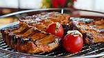 spare ribs, grill, bbq