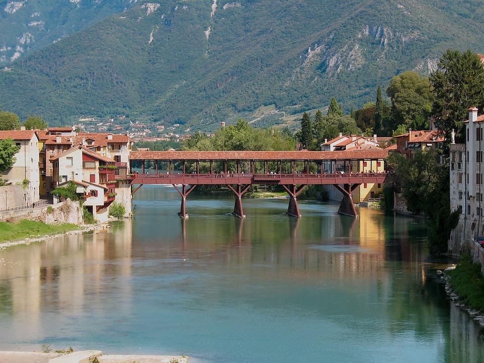 Bassano Del Grappa, Monte, Ponte, Alpini, Vecchio