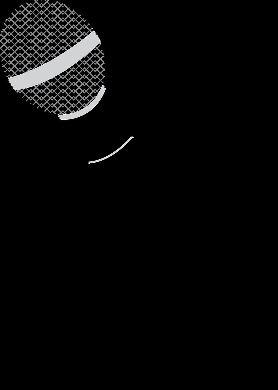 Открытки новый, картинки микрофона для презентации