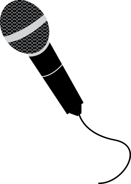 microphone sing singer free vector graphic on pixabay rh pixabay com microphone vector icon microphone vector free download