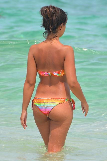 Free Photo Woman, People, Sexy, String, Bikini - Free -7427