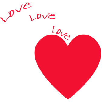 Heart Love Red Heart Background Hearts Rom