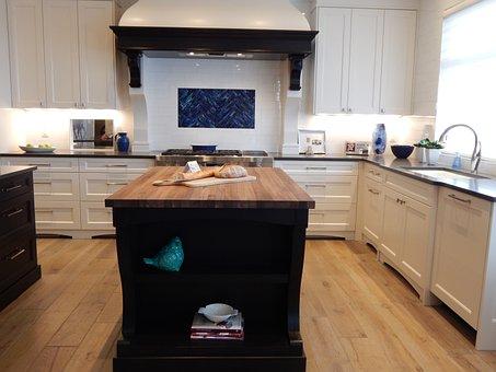 Kitchen House Home Stove Island Interior D