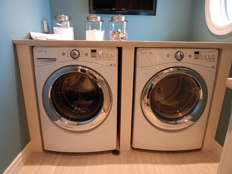 Washing Machine, Dryer, Laundry