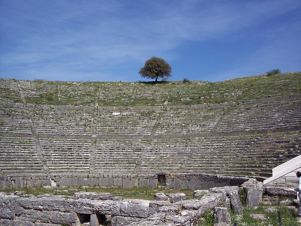 Dodoni, Teatro Antico, Grecia, Archeologico, Storico