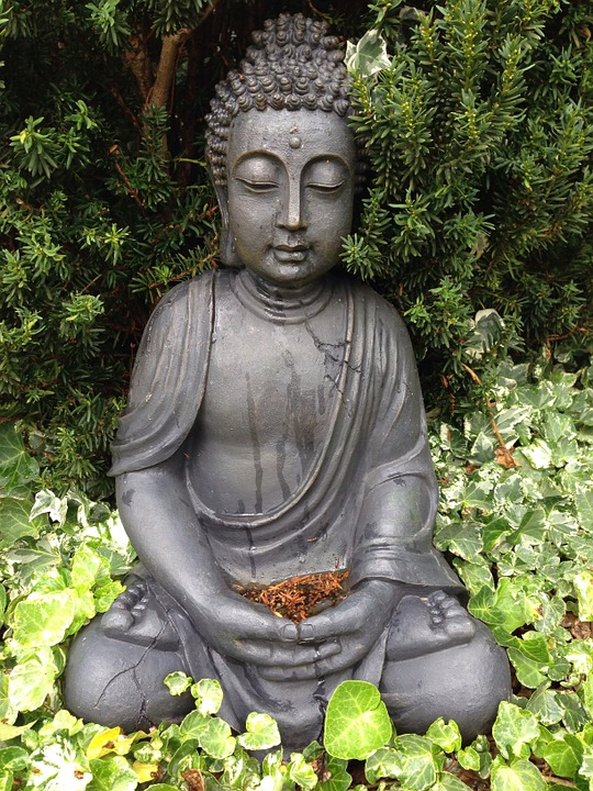 Buddha garden buddhism free photo on pixabay for Decoration jardin bouddha