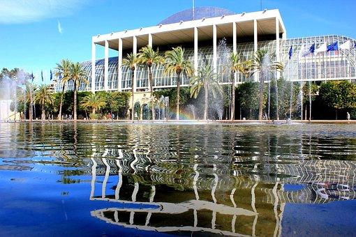 Jardines del Turia Palacio de la Música Valencia