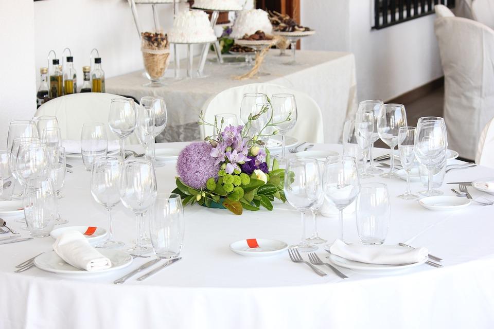 Hochzeit Tisch Blumen Kostenloses Foto Auf Pixabay