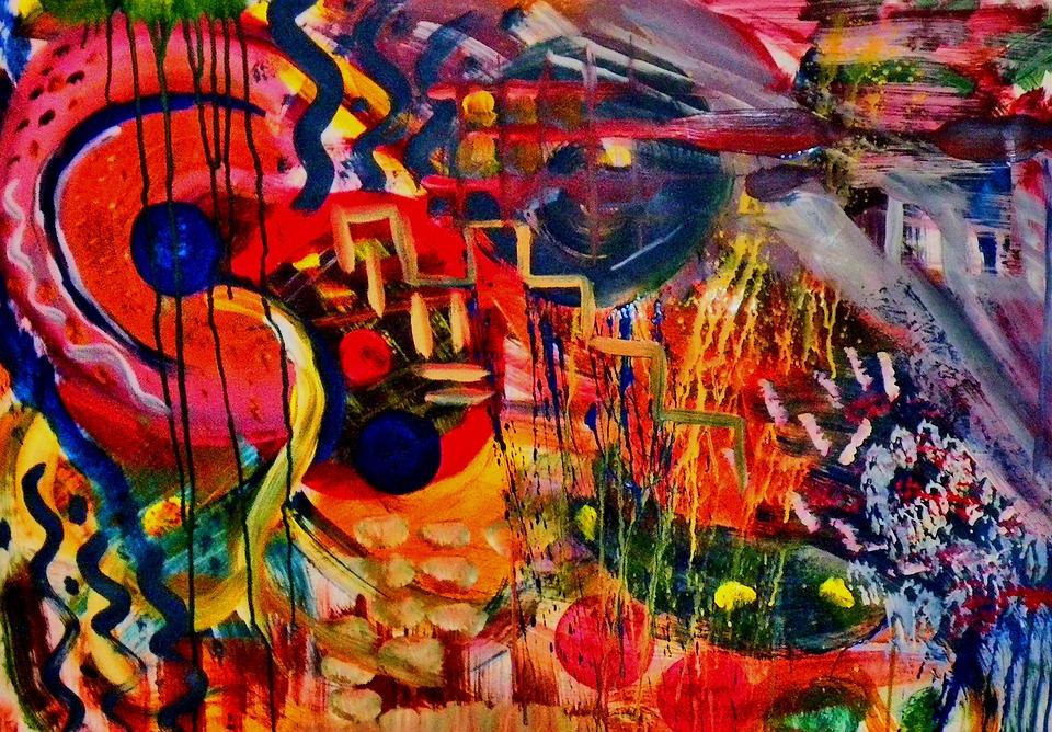 moderne kunst maleri