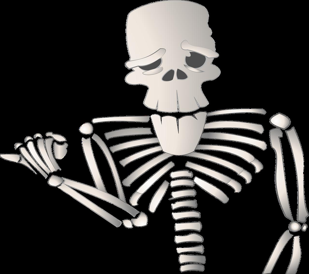 Картинки скелеты мультфильм