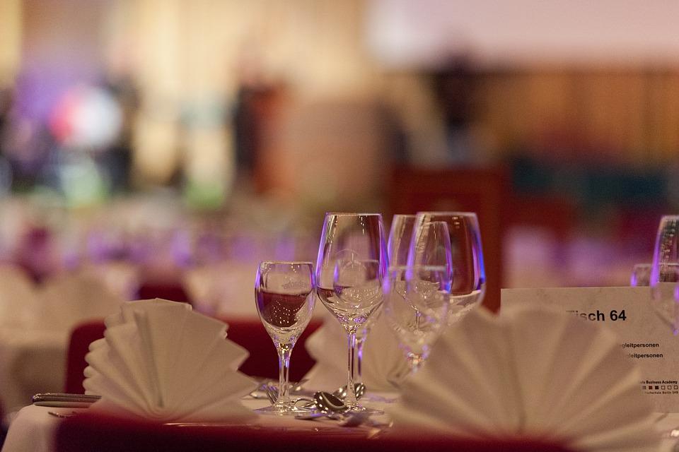 Einladung, Gedeckter Tisch, Essen