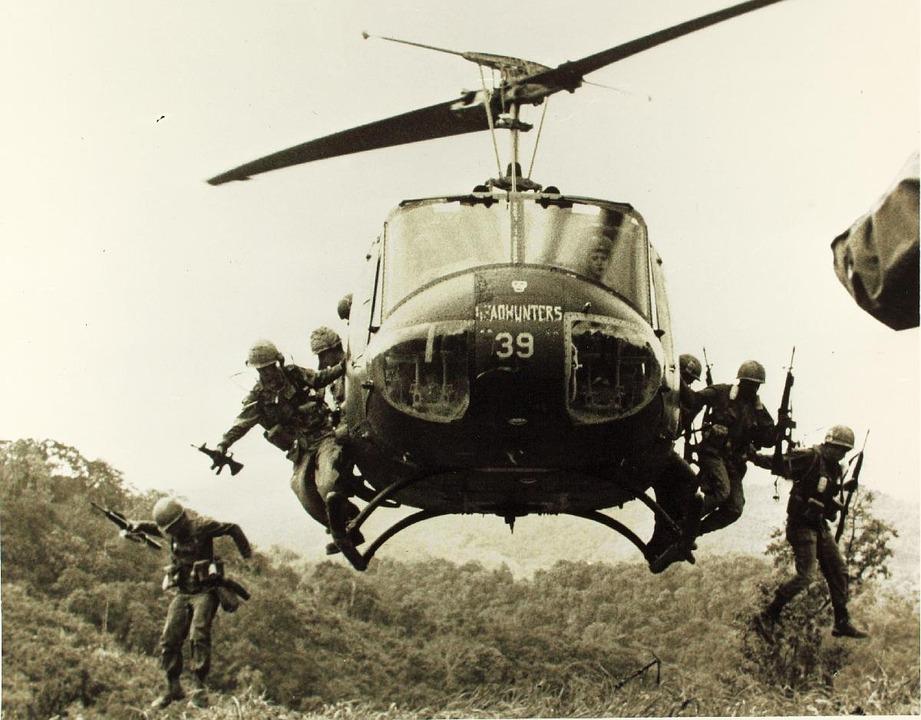 Bell Uh-1, Helicopter, Iroquois, Huey, Vietnam War
