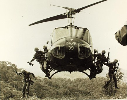 Bell Uh-1, Helicopter, Iroquois, Huey
