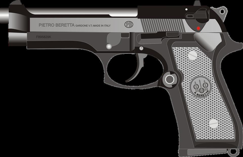 Free vector graphic Beretta Pistol Gun Handgun Free Image on