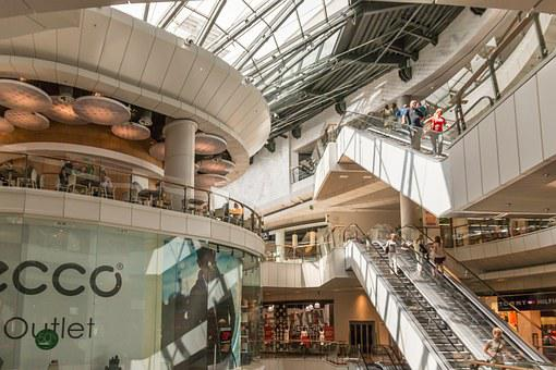 Stairs, Shopping Mall, Shop, Shopping