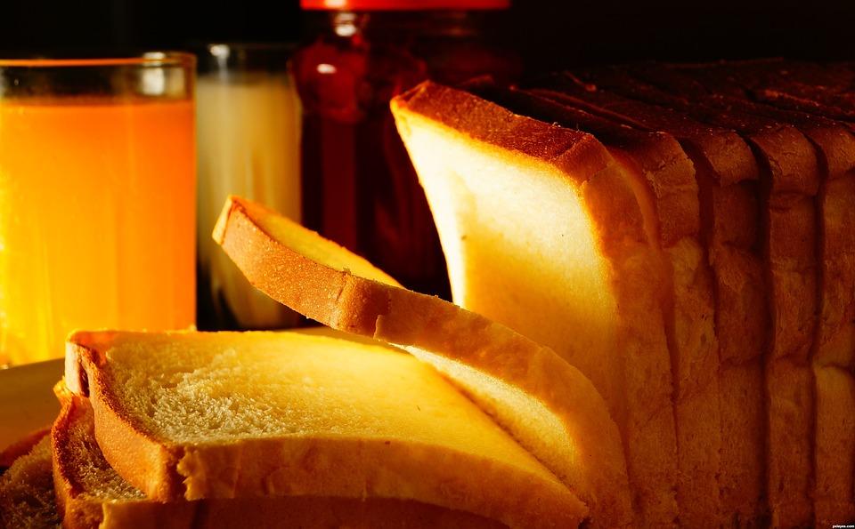 Free photo: Bread, Breakfast, Juice, Jam, Food - Free ...