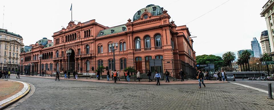 Casa Rosada, Argentina, Buenos Aires, Plaza De Mayo