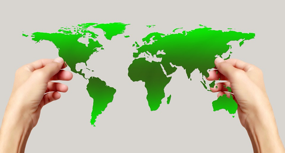 Hands keep map of the world free image on pixabay hands keep map of the world earth continents gumiabroncs Image collections