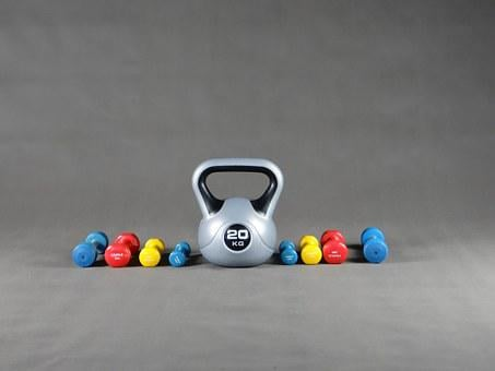 Sport, Gym, Dumbbell